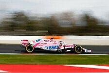 Formel 1,Force India mit Australien-Update: Renault kann kommen
