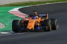 Formel-1-Testfahrten: Ferrari übersteht McLaren-Attacke