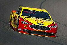 NASCAR Talladega: Dritter Dega-Sieg für Joey Logano