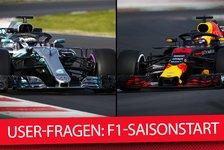 Formel 1 - Video: Formel 1 2018: Fragen vor Saisonbeginn