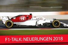 Formel 1 - Video: Formel 1 2018: Die wichtigsten F1-Neuerungen 2018 im MSM-Talk