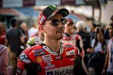 Jorge Lorenzo über Yamaha-Zeit: Rossi hat mein Training kopiert