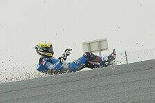 Tom Lüthi mit Sturz bei MotoGP-Debüt in Katar