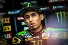 MotoGP: Hafizh Syahrin bei Fahrrad-Sturz verletzt