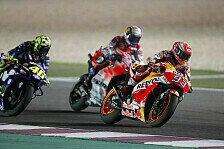 MotoGP Katar 2018: Dovizoso schlägt Marquez in letzter Kurve