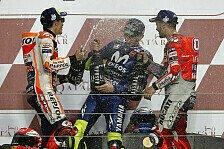 Valentino Rossi: Dovizioso und Marquez MotoGP-Titelfavoriten