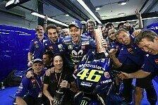 Valentino Rossi in Katar: Wusste, dass es ein gutes Rennen wird