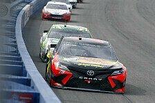 NASCAR Fontana: Martin Truex Junior gewinnt alle 3 Stages