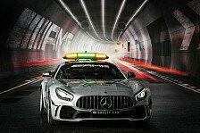 Formel 1 2018: Mercedes zeigt das neue Safety Car - AMG GT R