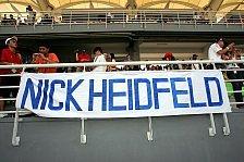 Formel 1 - Riesenandrang beim Nick Heidfeld Kartevent