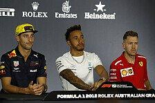 Hamilton vs. Vettel: Erster Schlagabtausch der F1-Saison 2018