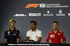 Formel 1 Australien 2018: Das war der Donnerstag im Live-Ticker