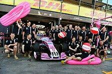Formel 1: Force India - Neuer Team-Name erst 2019