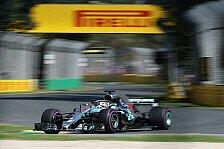 Formel 1, Australien 2018: Hamilton holt erste Bestzeit