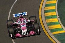 Formel 1, Australien: Force India mit 'neuem' Auto am Start