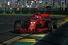 Formel 1, Australien: Vettel fühlt sich mit Ferrari nicht wohl