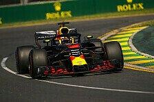 Neue F1-Regel 2018: Strafversetzung für Ricciardo in Australien
