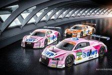 BWT Mücke Motorsport mit drei Audi R8 LMS im ADAC GT Masters