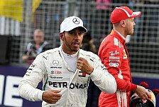 Formel 1, Hamilton nach Last-Minute-Pole: Eine meiner besten