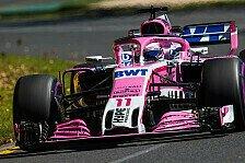 Formel 1: Force India in Bahrain dank Flügel wieder auf Spur?