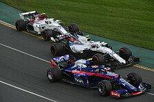 Formel 1, Bahrain: Toro Rosso Honda wechselt erste Motorenteile