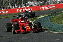 Formel 1, Australien: Vettel siegt sensationell vor Hamilton