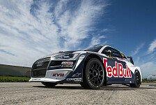 Rallycross 2018: Mattias Ekström präsentiert neuen WRX-Audi