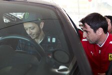 Valentino Rossi: MotoGP-Star testet für Ferrari