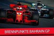 Formel 1, Bahrain 2018: Die wichtigsten Fragen zum Nachtrennen