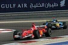 Formel-1-Geschichte, Bahrain: Mega-Duell Schumi vs. Alonso 2006