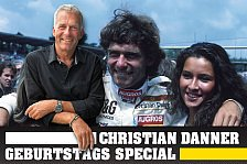 Christian Danner, Interview Teil 1: Mit Abi & Ohrring in die F1