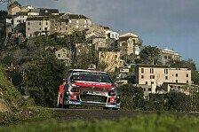 WRC Frankreich 2018: Meeke beherrscht Shakedown in Korsika