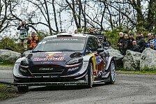 WRC Frankreich: Ogier rockt den Freitag in Korsika - Loeb raus