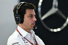 Formel 1, Wolff alarmiert: Brauchen Mercedes würdige Leistung!