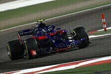 Formel 1 Bahrain: Toro Rosso selbst baff von Riesenschritt