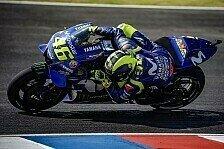 Valentino Rossi unsicher vor MotoGP-Qualifying in Argentinien