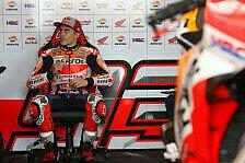 Nach Crash mit Rossi: Keine weitere Strafe gegen Marc Marquez