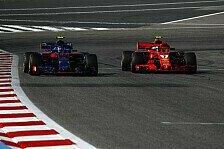 Formel 1 Bahrain: Kimi Räikkönen sauer auf Ferrari: Verkehr!
