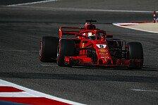 Formel 1 Bahrain: Vettel holt Ferrari-Pole, Mercedes enttäuscht