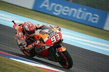 MotoGP Argentinien: Marc Marquez geht kein Risiko ein - nur P6