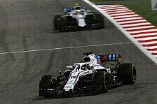 Formel 1, Bahrain-Blamage für Williams: Sehen aus wie Idioten
