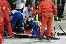 Formel 1 Bahrain: Räikkönens Ferrari-Mechaniker mit Beinbruch