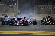 Formel 1 Bahrain: Kurioser Strafenhagel für Perez & Hartley