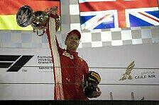 Bahrain GP Presse: Vettel greift in Copperfields Zauberkiste
