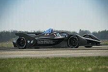 Formel E - Video: BMW dreht erste Runden mit neuem Formel-E-Auto
