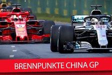 Formel 1, China 2018: Die wichtigsten Fragen vor Shanghai