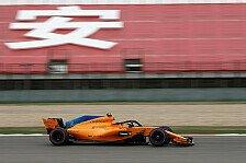 Formel 1 China 2018: Nächste Boxenstopp-Panne, McLaren bestraft