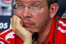 Formel 1 - Ross Brawn bleibt pessimistisch