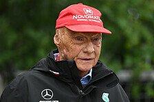 Niki Lauda: Nach Lungentransplantation aus Koma erwacht