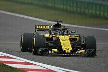 Formel 1 China, Nico Hülkenberg mit Zielwasser: 'Exotische' P7
